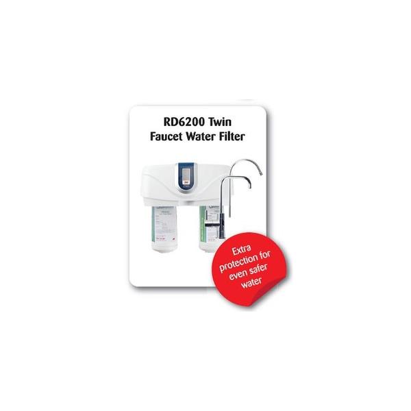 raindance twin undersink purifier for tank water